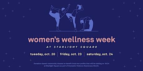 Wellness Week: Yoga and Meditation tickets