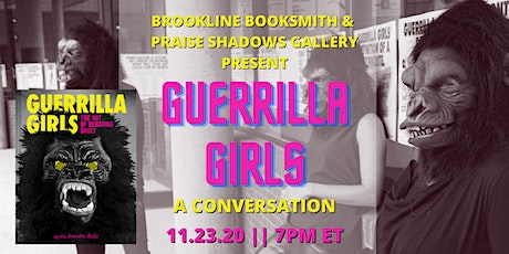 Virtual Talk with the Guerrilla Girls tickets