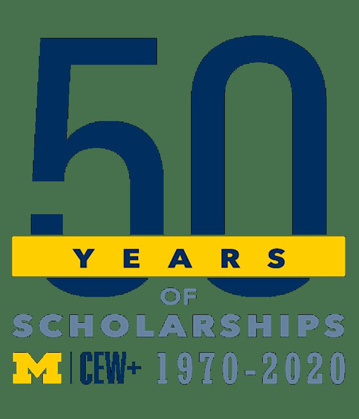 CEW+ Scholarships Virtual Awards Celebration, October 28 at 6pm image