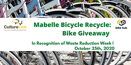 Bike Giveaway: Mabelle Bicycle Recycle tickets