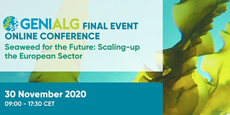 GENIALG Final Conference tickets