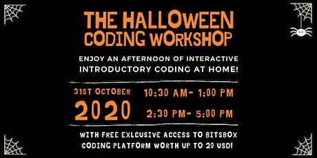 Halloween Coding Workshop tickets