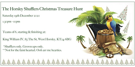 Horsley Shufflers Christmas Treasure Hunt tickets
