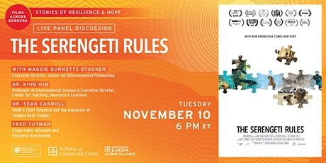 Films Across Borders: The Serengeti Rules tickets