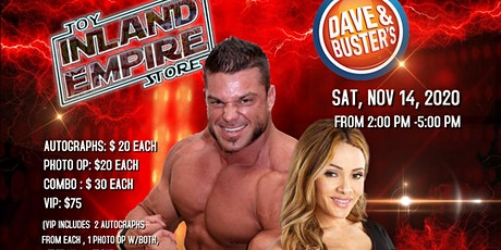 Meet an Greet with Brian Cage and Melissa Santos tickets