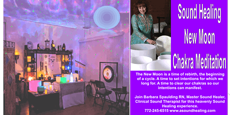 Sound Healing New Moon Chakra Balancing tickets