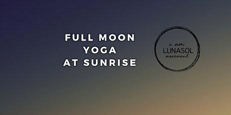 Blue Full Moon Yoga at Sunrise tickets
