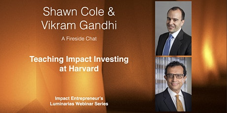Teaching Impact Investing at Harvard tickets