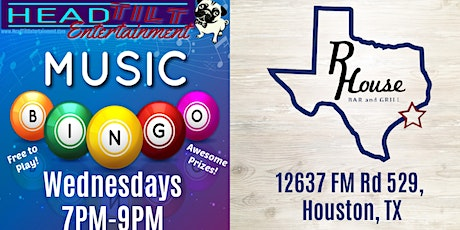Music Bingo at R House Bar and Grill! tickets