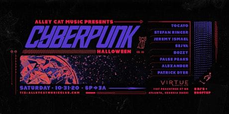 "Alley Cat Music ""CyberPunk"" Halloween boletos"