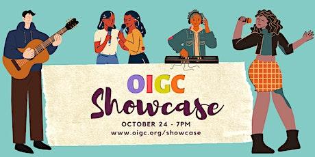 10/24: OIGC Members' Showcase tickets