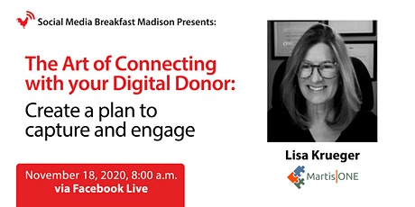 Connecting With Your Digital Donor: Create a plan to capture & engage tickets