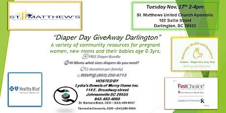 Diaper Day GiveAway Darlington SC tickets