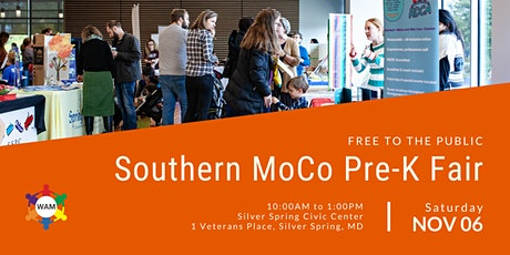 2021 Southern Montgomery County, MD, Preschool Fair tickets