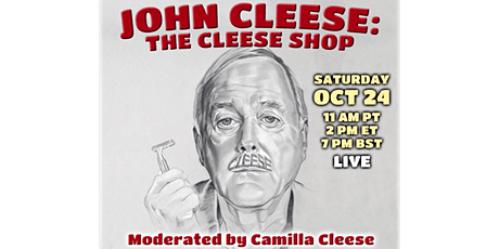 John Cleese: The Cleese Shop tickets