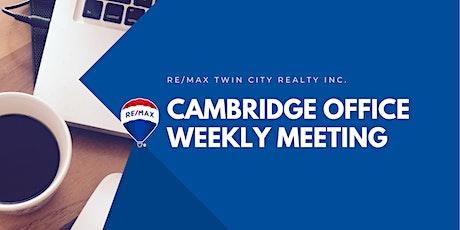RTC Cambridge: Office Meeting tickets