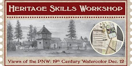 Heritage Skills Workshop: 19th Century Watercolor Workshop