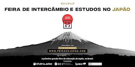 Feira de Intercâmbio e Estudos no Japão ingressos