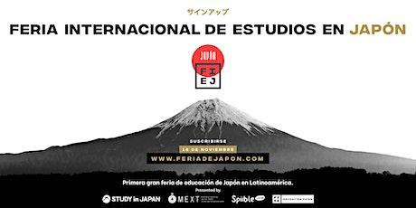 Feria Internacional de Estudios en Japón boletos