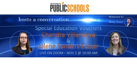 Special Education Vouchers: A Conversation ... tickets