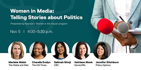 Women in Media: Telling Stories about Politics tickets