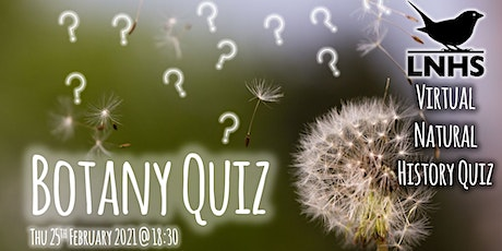 Botany Quiz tickets