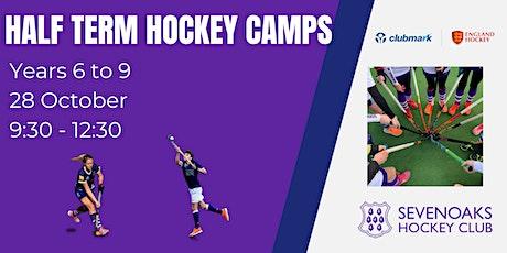 Sevenoaks Hockey Club October Half Term  Camp Years 6 to 9 tickets