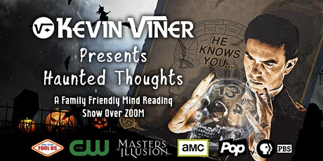 Kevin Viner: Haunted Thoughts. A Family-Friendly Virtual Mind Reading Show. tickets
