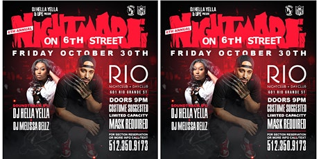 6th Annual Nightmare on 6th Street | 10.30 tickets
