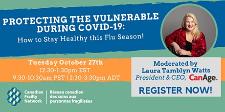 Protect the Vulnerable During COVID-19: Stay Healthy This Flu Season! tickets