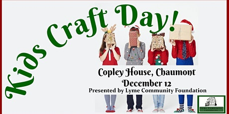 1 PM Kids Christmas Craft Day tickets