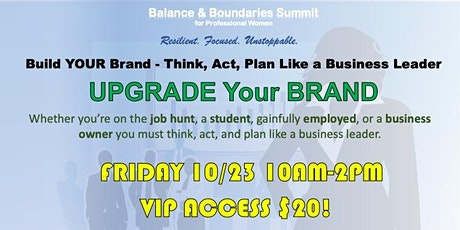 Balance & Boundaries Summit for Professional Women tickets