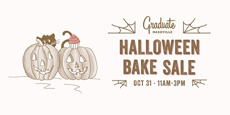 Halloween Bake Sale tickets
