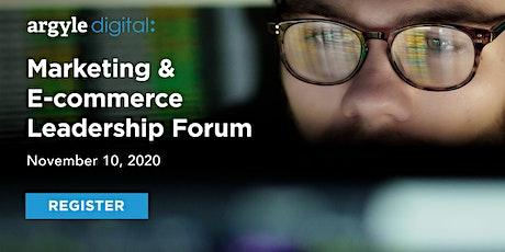 Marketing & E-Commerce Leadership Forum tickets