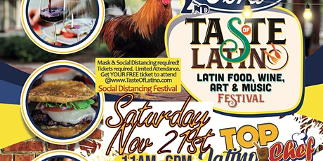 VIP: 2nd Annual Taste Latino: Food, Beer, Wine & Music Festival: VIP Area tickets