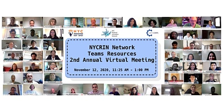 NYCRIN Network - Teams Resources Virtual Meeting 2020 tickets