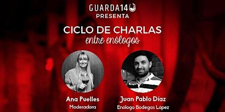 Ciclo de charlas de Guarda 14: con Juan Pablo Díaz entradas