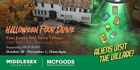 Halloween Food Drive tickets