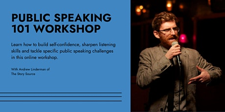 Public Speaking 101 Workshop tickets