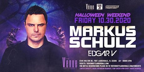 Markus Schulz // Edgar V // Halloween Weekend tickets