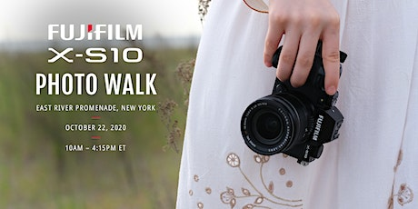 FUJIFILM X-S10 Photo Walk tickets