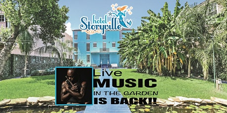 Live Music & a Movie (TBA) in the Garden - Mario Abney Band - New Orleans tickets