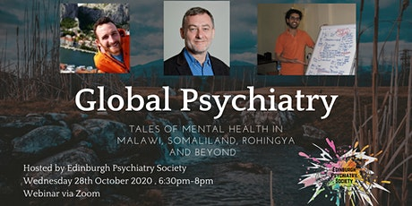 Global Psychiatry: Tales of Mental Health in Malawi, Somaliland and Beyond tickets
