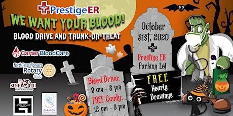 Plano Blood Drive & Trunk-or-Treat - Prestige ER tickets