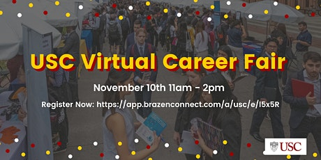 USC Virtual Career Fair tickets