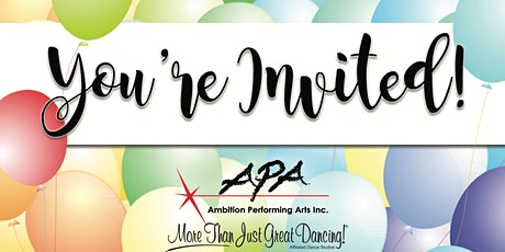 Birthday Party with Ambition Performing Arts tickets