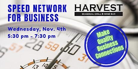 Speed Business Network at Harvest Seasonal Delray Beach tickets