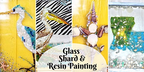 Glass Shard  and Resin Painting (2 day) tickets