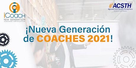 iCoach: Certificación de Coach Profesional entradas