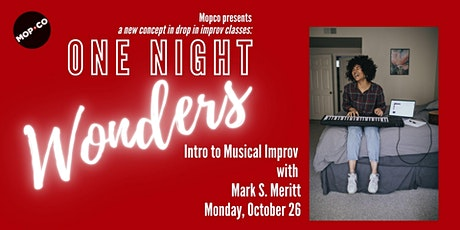 One-Night Wonder: Musical Improv tickets